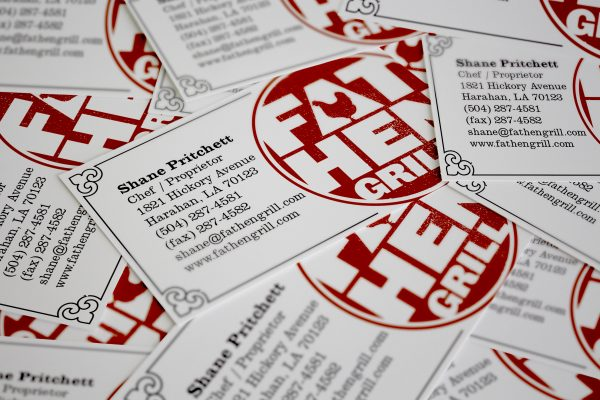 Fat Hen Grill Branding and Packaging