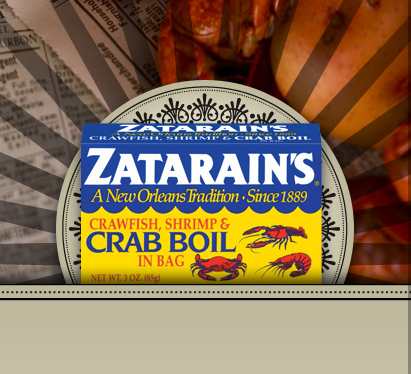 Zatarain's Twitter Re-Design