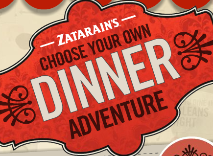 Zatarain's Dinner Decision Tree