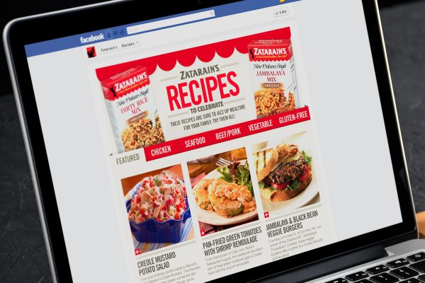 Zatarain's Facebook Apps