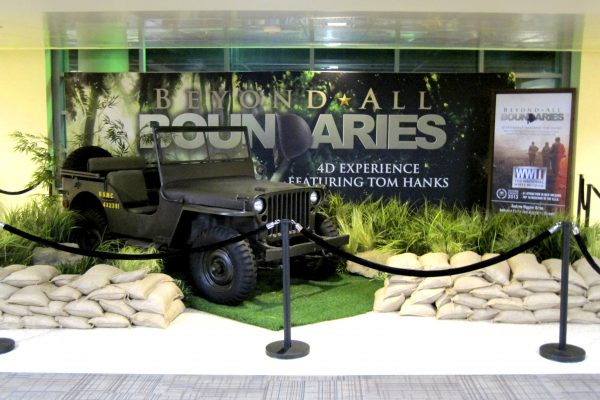 National WWII Museum OOH Spectacular